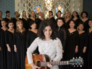 K. Melua and Gori Women's Choir