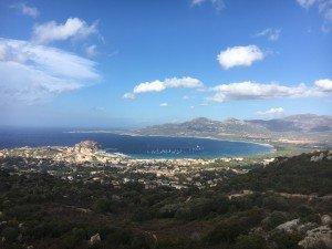 Calvi vue panoramique