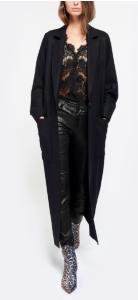 manteau noir Margaux Lonnberg